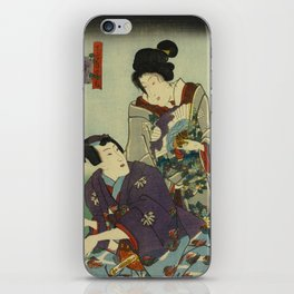 A May day of twelve months iPhone Skin