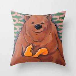 The Bachelor (BEAR) Throw Pillow