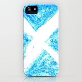 flag of scotland 7– scotland,scot,scottish,Glasgow,Edinburgh,Aberdeen,dundee,uk,cletic,celts,Gaelic iPhone Case
