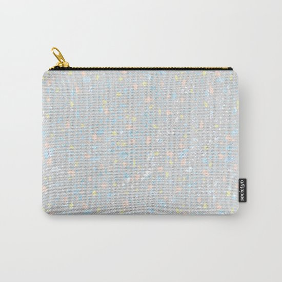 Neon star dust Carry-All Pouch