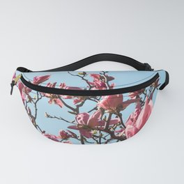 Flower Photography | Magnolia | Tree | Nature | Sky | Summer Fanny Pack