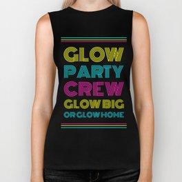 Neon Glow Party Gift Crew Glow Big Or Glow Home Theme Party Biker Tank