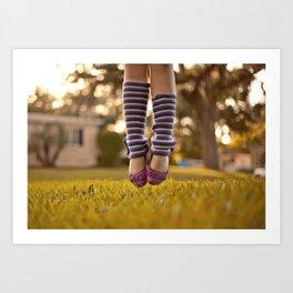 Ballet Jump Art Print