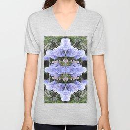 Purple Puffs Unisex V-Neck