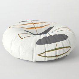 Mid-Century Modern 1.1 Floor Pillow
