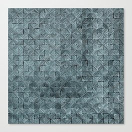 Ink Stitch: Aquamarine (green-shade) Canvas Print