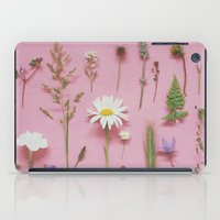 cassia beck iPad Cases featuring Wild Flowers by Cassia Beck