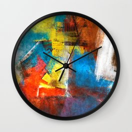 Infinity abstract painting | Abstract Painting Wall Clock