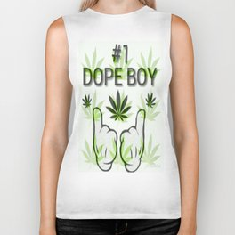 The Number One Dope Boy Biker Tank