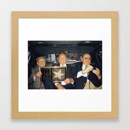 Don Knotts and Walk of Fame Star Framed Art Print