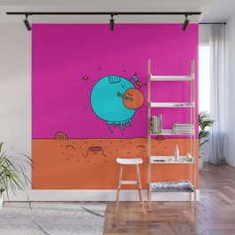 Happy Planets Wall Mural
