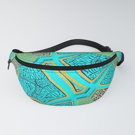 Band Of Beefheart Blues Fanny Pack
