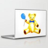 teddy bear Laptop & iPad Skins featuring Teddy Bear by 'Artisimo' (Keith Bond)