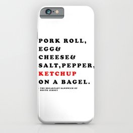South Jersey Breakfast iPhone Case