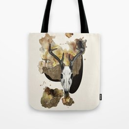 Deer Skull by carographic Tote Bag
