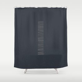 Monolithe Color 3 Shower Curtain