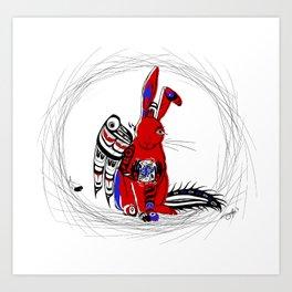 Nanabozho Art Print
