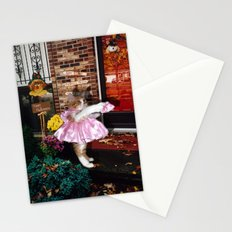 Trick-or-Treat Kitty Stationery Cards