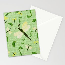 Olivine Dell Dragonflies Stationery Cards