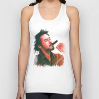 robert downey jr Tank Tops featuring Mr Downey, Jr. by Thubakabra