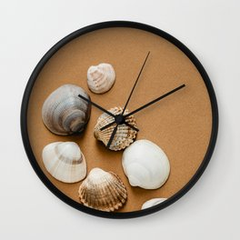 Clams Wall Clock