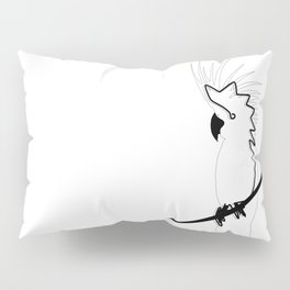 Cockatoo in line Pillow Sham