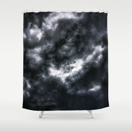 Dark Clouds Shower Curtain