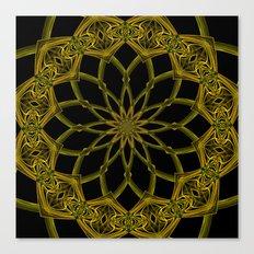 Kaleidoscope 'RK3 SQ' Canvas Print