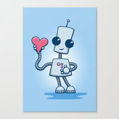 Ned's Heart Canvas Print