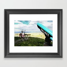 Gold Beach Vantage Point Framed Art Print