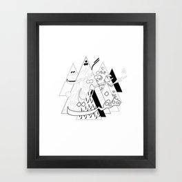 هفت شهر عشق Framed Art Print