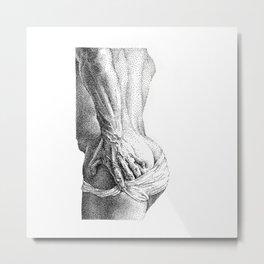Gonza - NOODDOOD Metal Print