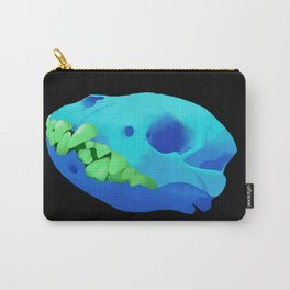 spotted hyena skull Carry-All Pouch
