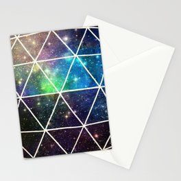 Space Geodesic Stationery Cards