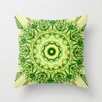 iron giant Throw Pillows featuring Giant by Katherine Barnett