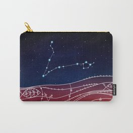 Pisces Constellation Design Carry-All Pouch