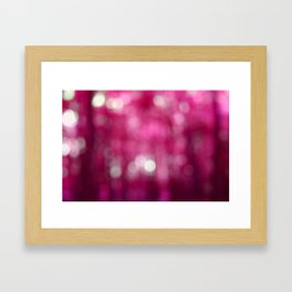 Pink Abstract Framed Art Print