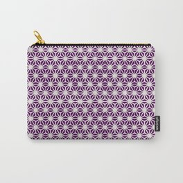 Asanoha Pattern Carry-All Pouch