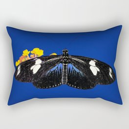 Wild Blue Rectangular Pillow