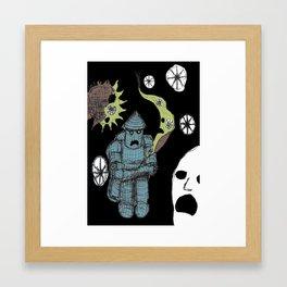 Decaying Wonderland III Framed Art Print