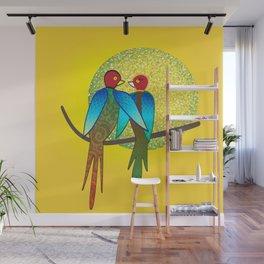 LoveBirds Wall Mural