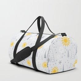 Winter Sunshine Duffle Bag