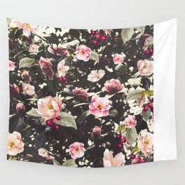 Beat Around The Rosebush Wall Tapestry