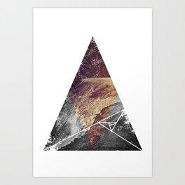 Tri-Mou Art Print