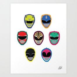 Rangers Art Print