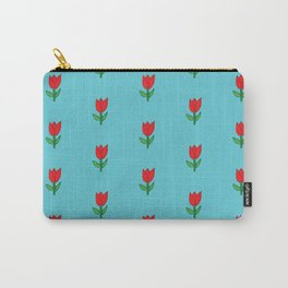 flowers are red Carry-All Pouch
