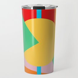 Circle Series - Summer Palette No. 4 Travel Mug