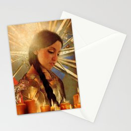 Joan d' Arc Stationery Cards