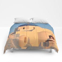 Agios Gerasimos with a Sunrise Glow Comforters
