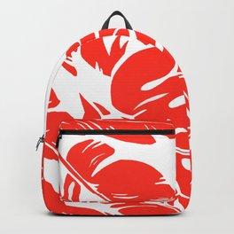 PALM LEAF RED Backpack